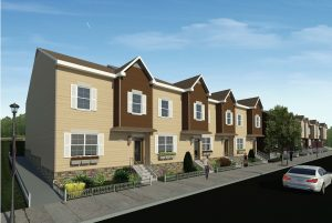 City Mission's New Transitional Housing Rendering