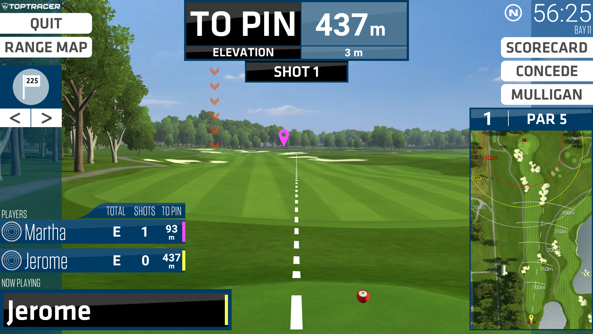 TopTracer Virtual Golf